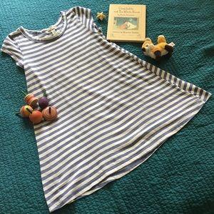 BILLABONG striped short sleeve cotton dress